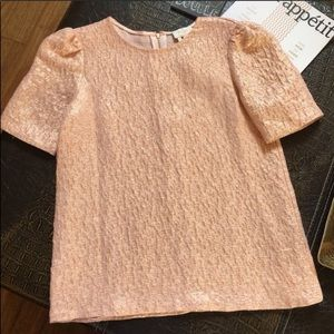 Kate Spade Haley 'all That Glitters' Top size 0